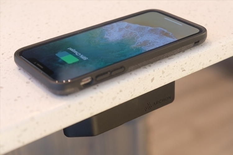 Archon Wireless Charger can power your Phone through desks