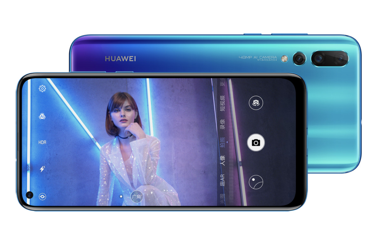 Huawei Nova 4 with 'hole-punch' display announced