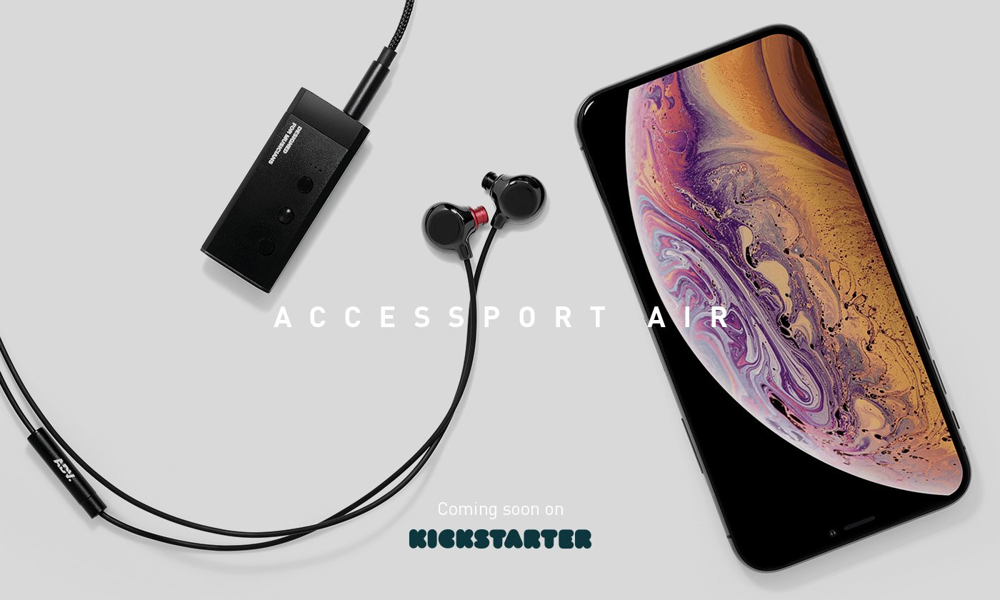 Accessport Air brings back the headphone jack on your smartphone, wirelessly