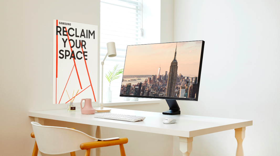 Samsung announces a new space-saving monitor named Space Monitor