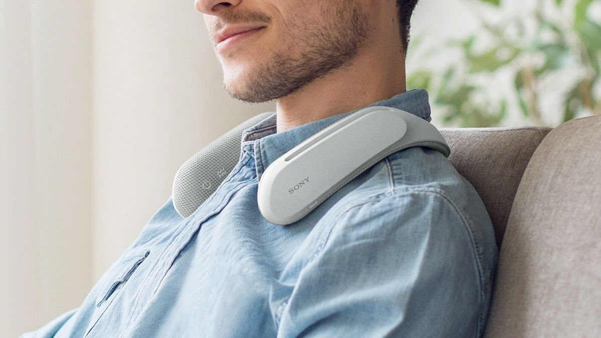 Sony launches Wearable Neck Speakers (SRS-WS1)