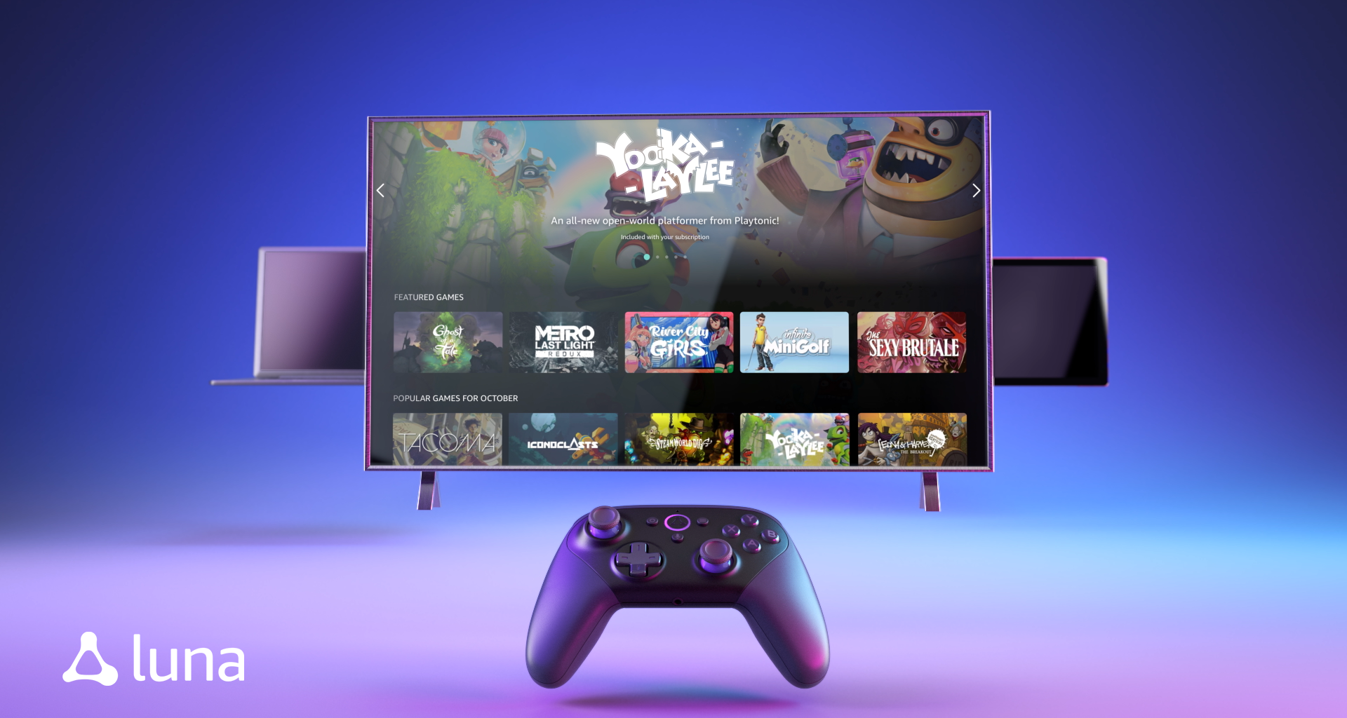 Amazon announced Luna, its Cloud Gaming Service