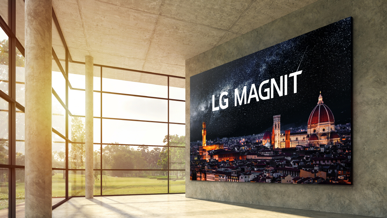 """LG releases its new 163-Inch 4K microLED TV named """"Magnit"""""""