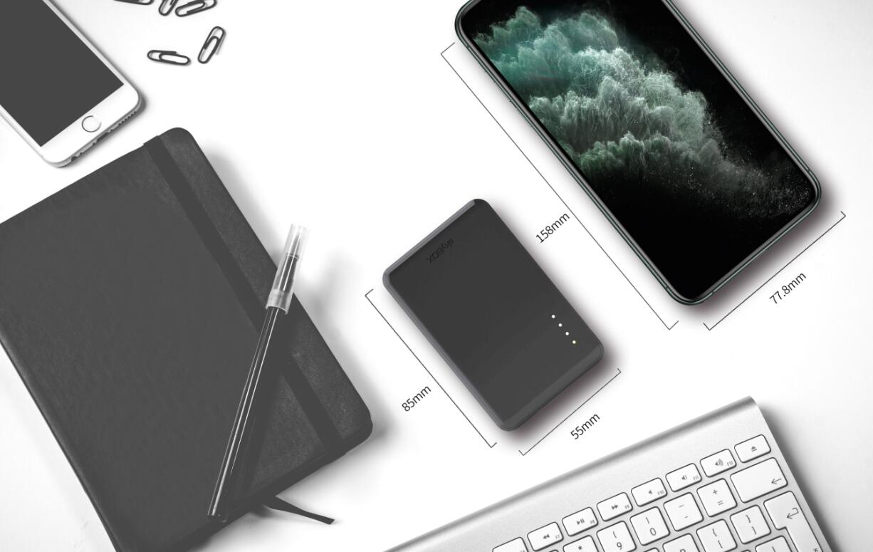 Skybox Pro portable SSD allows data transfer at a speed of 2200 MB/s