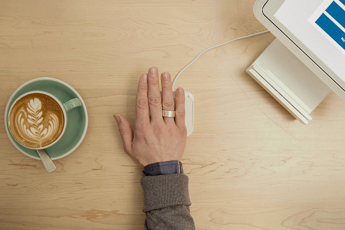 Aeklys Smart Ring can replace your bank cards