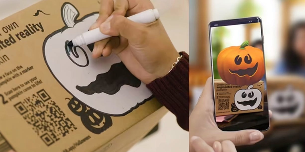 Amazon silently released a new AR App to brings life to its delivery boxes