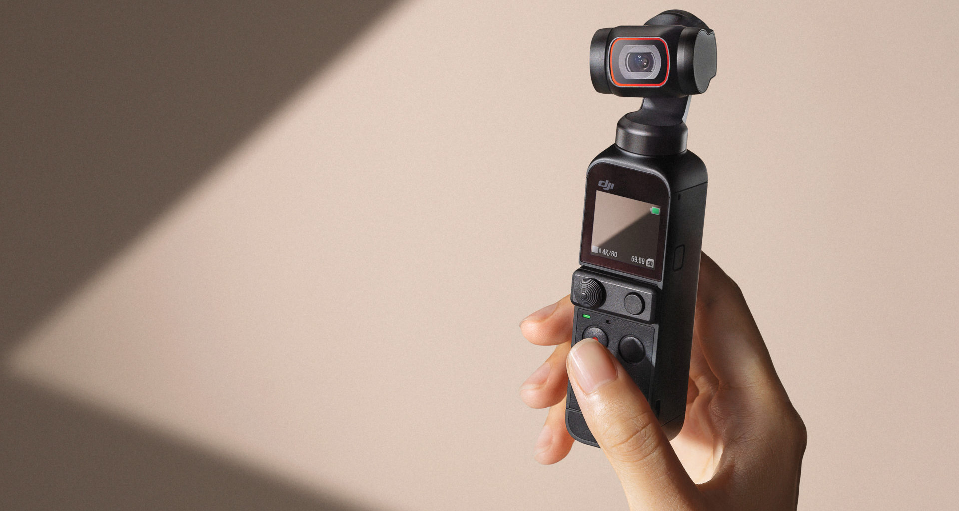 DJI launched DJI Pocket 2 tiny camera with improved camera and audio specifications