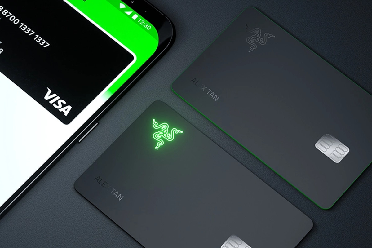 Financial wing of Razer launches Credit Card that lights up during a transaction