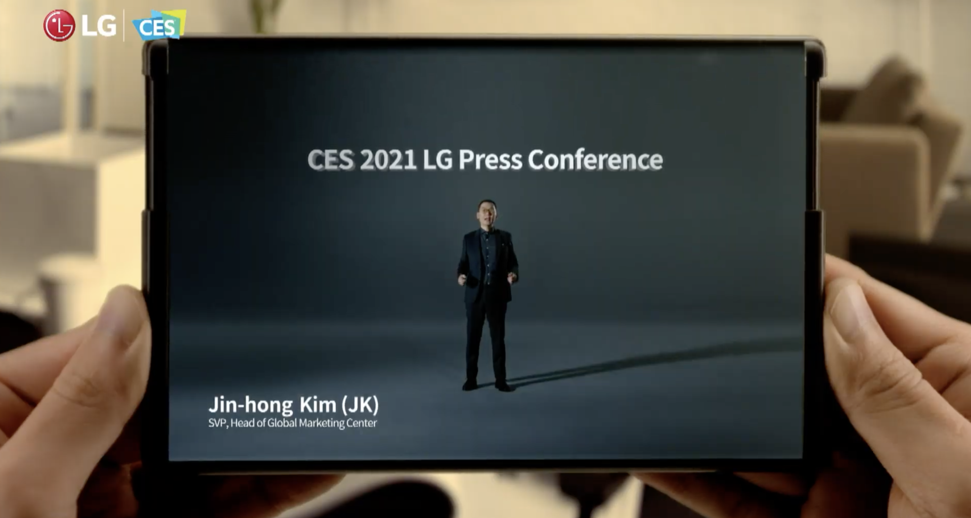LG shows off Rollable phone in CES 2021 virtual event and confirms release within 2021