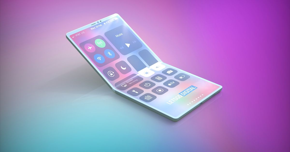 New patent suggests Apple's foldable iPhone might come with geared hinges