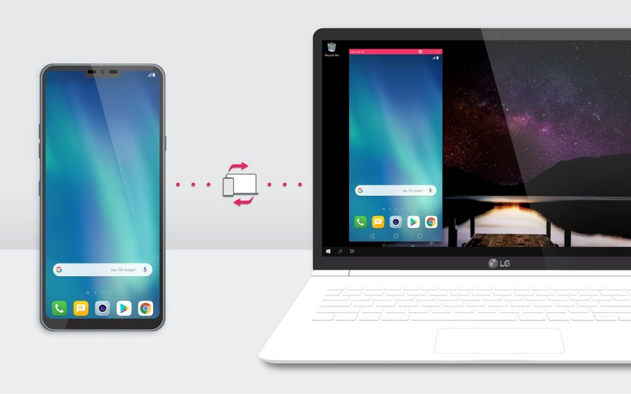 LG rolls out Virtoo, a Windows 10 app that pairs your LG smartphone with PCs
