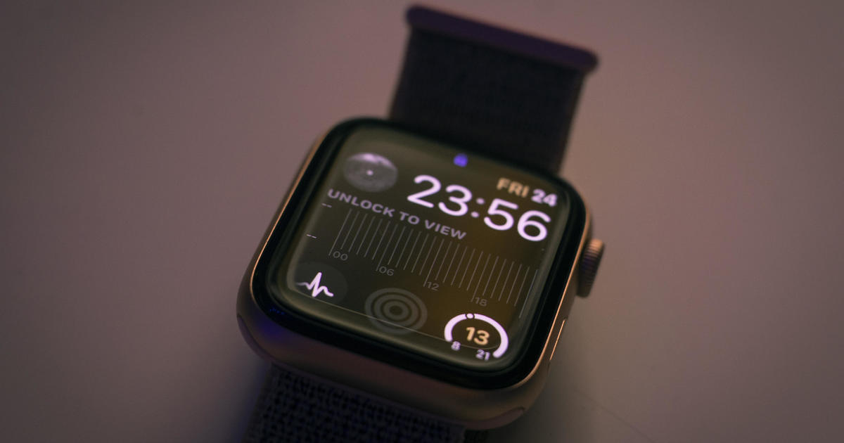 Study finds Apple Watch's heart rate sensor capable of predicting COVID-19 a week before a nasal swab test